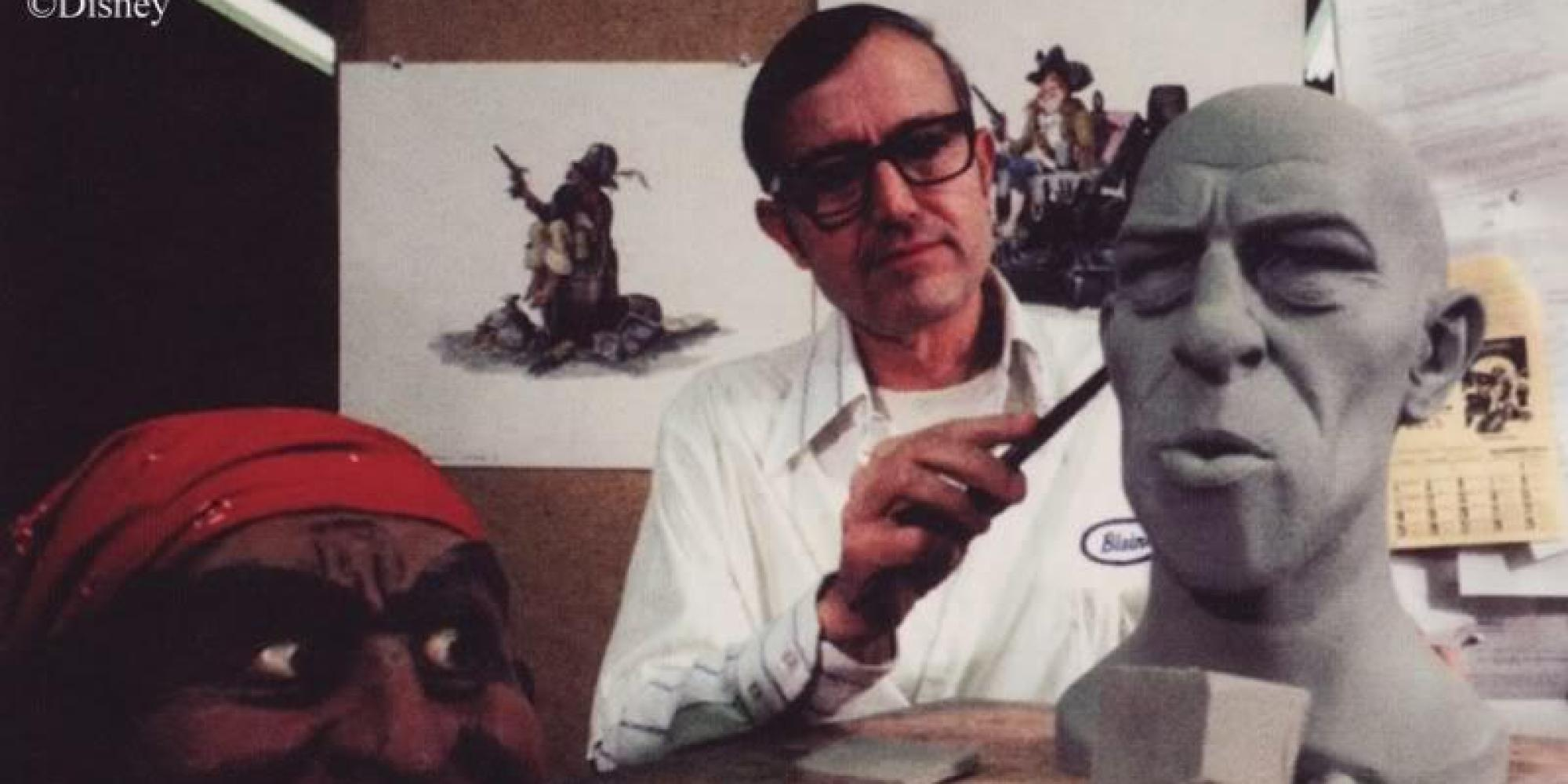Blaine Gibson Disney Legend Behind Pirates And Haunted