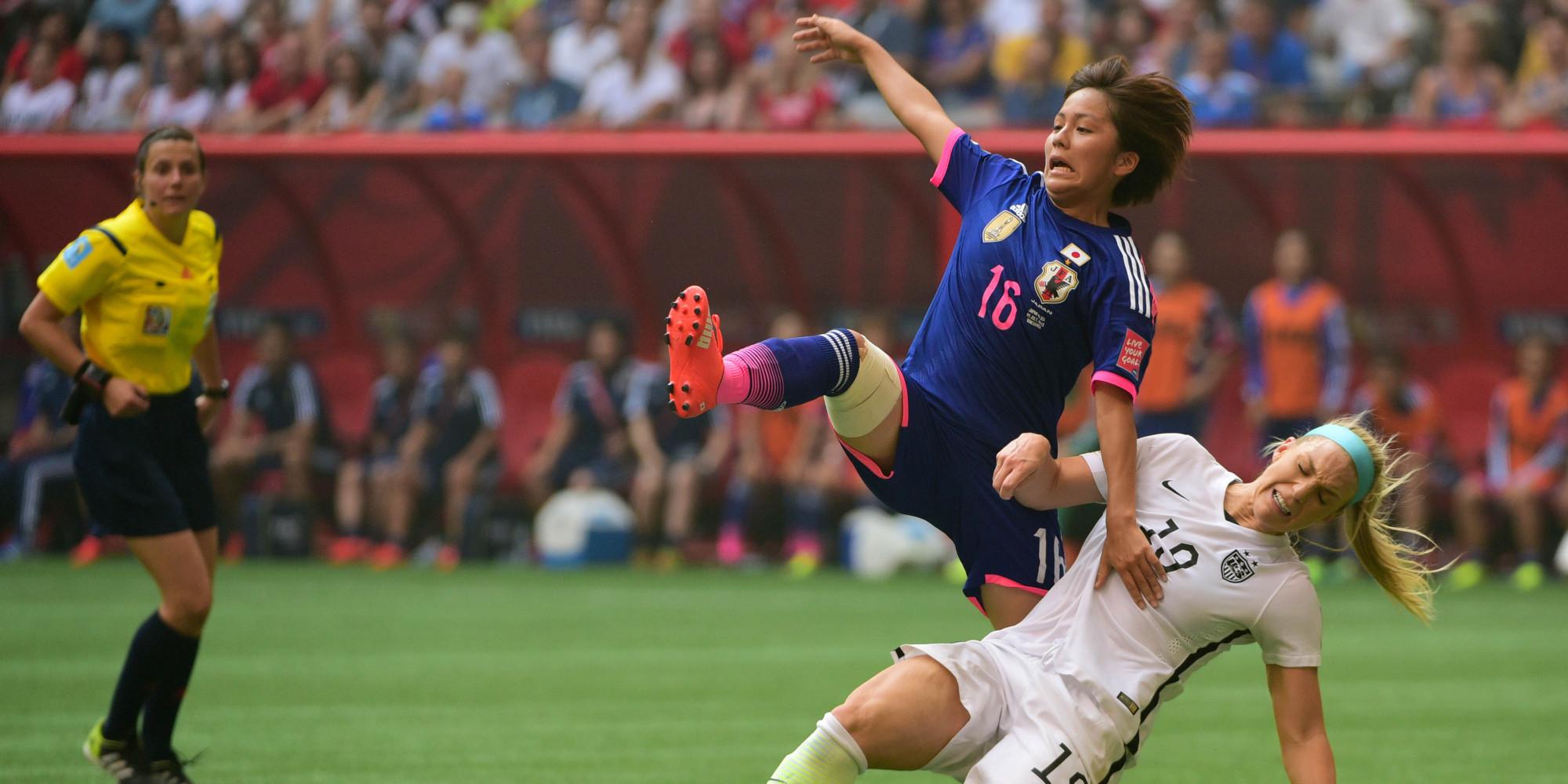Coupe du monde de football f minin 2015 le r sum et les buts de la victoire des tats unis sur - Coupe du monde de foot feminin 2015 ...