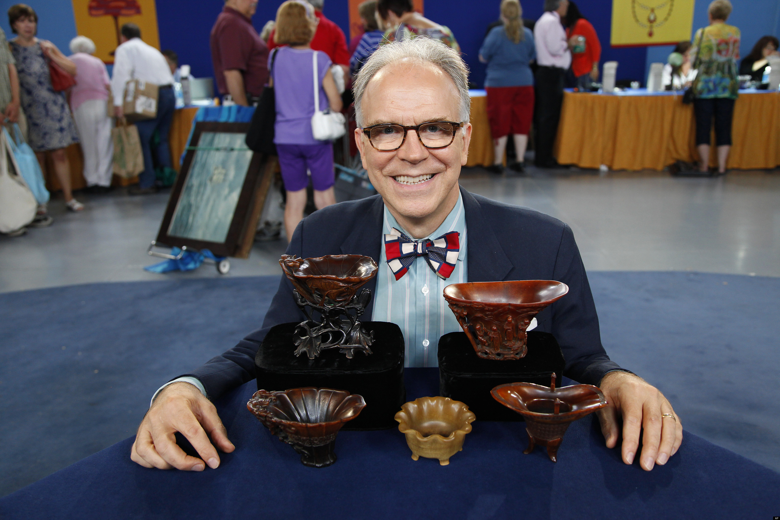 Antiques Roadshow 39 S Most Valuable Find Ever Rhino Cups