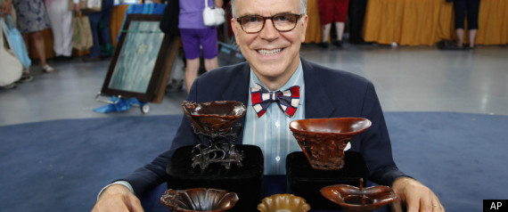 ANTIQUES ROADSHOW RHINO CUPS