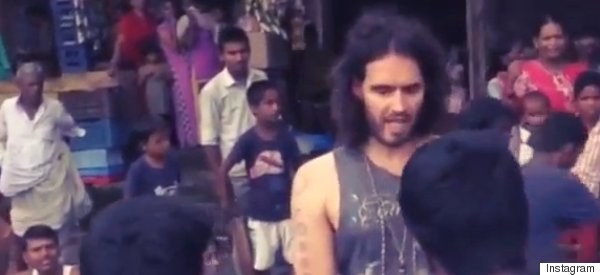 Russell Brand Had His Phone Stolen In India, And Then This Happened...