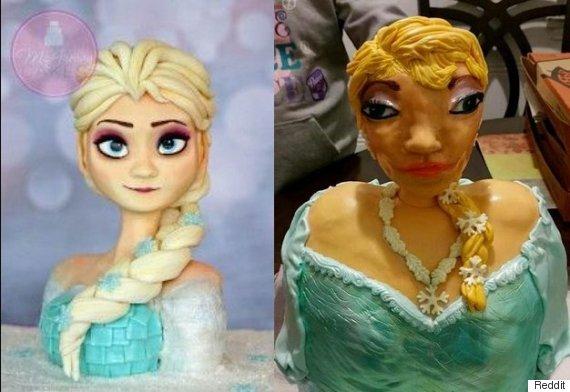 frozen cake fail
