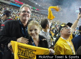 Maker Of The Steelers' Terrible Towel Is A Packers Fan!