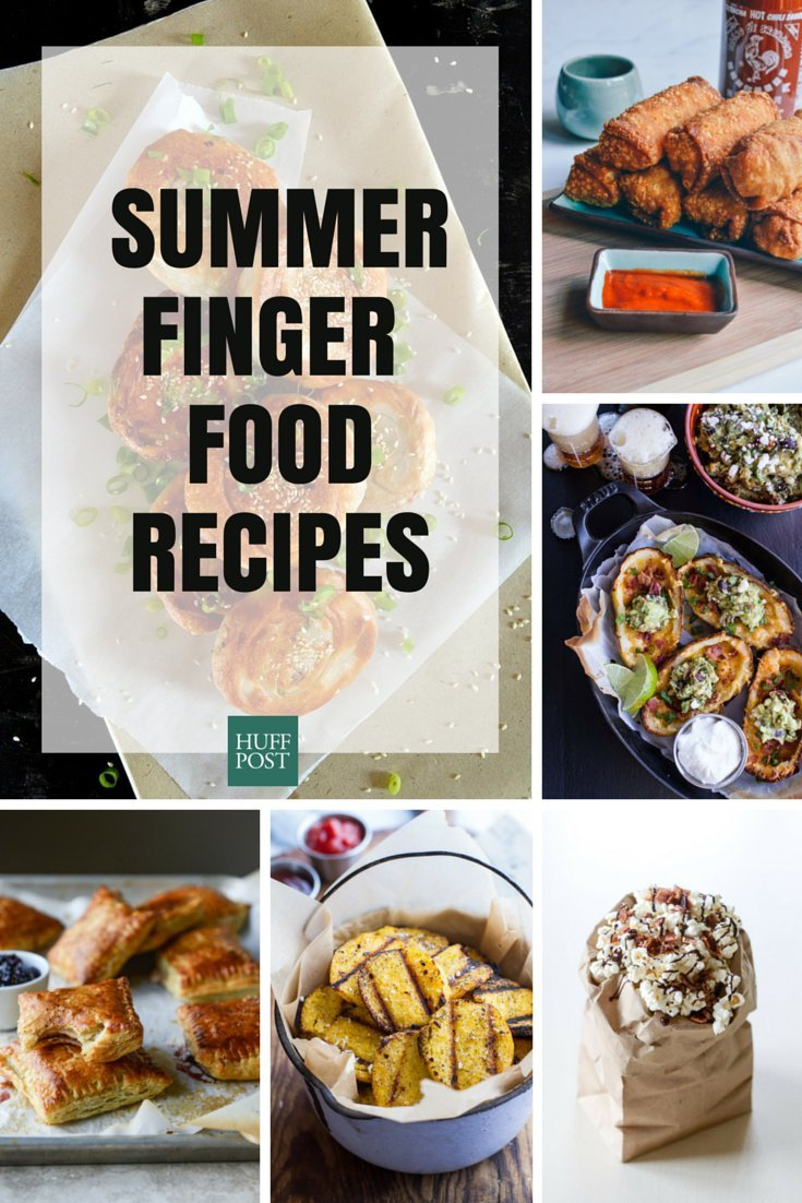 Finger food recipes for summer entertaining huffpost finger foods forumfinder Choice Image
