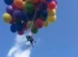 Man Attaches 110 Helium Balloons To Lawn Chair, Floats Over City