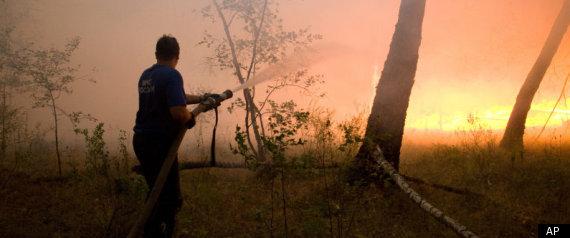 RUSSIA WILD FIRE