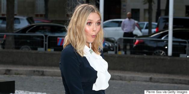 Elizabeth Olsen Has A Marilyn Moment In Breezy Paris