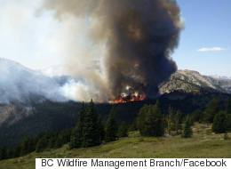 B.C. Wildfires Cost Province $80 Million -- And Counting