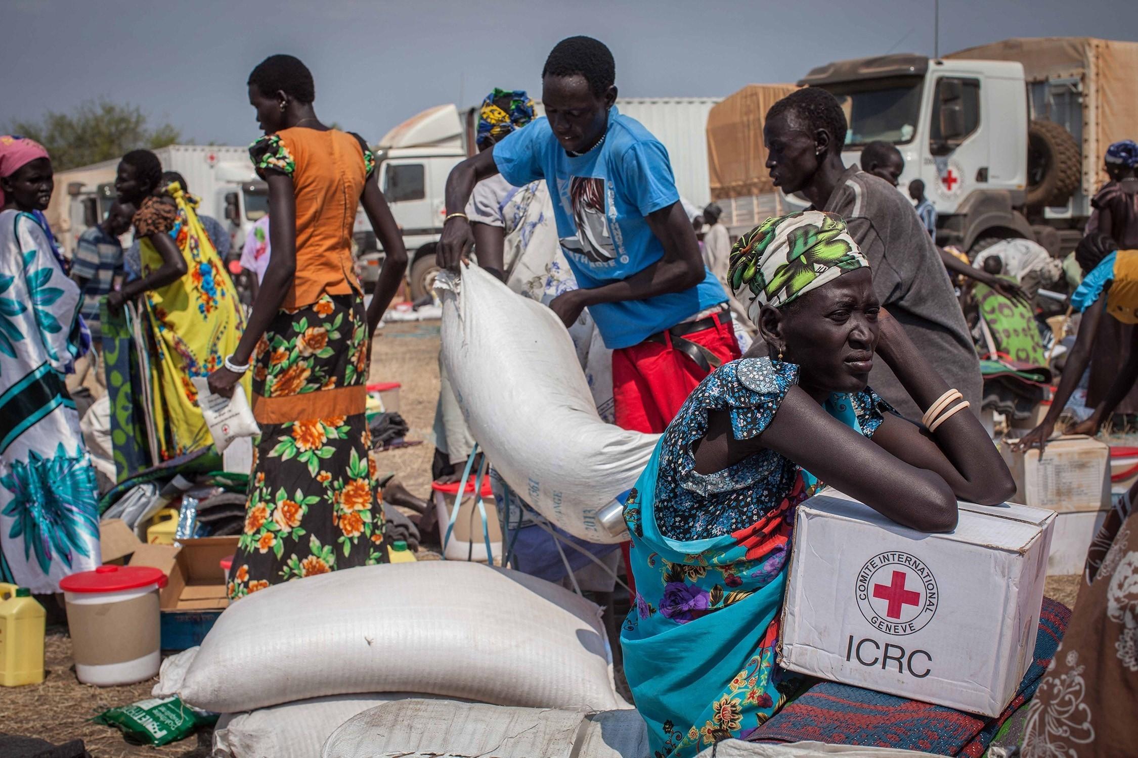 south sudan icrc