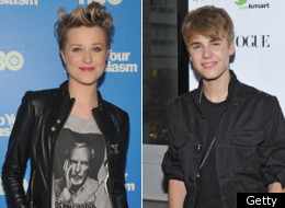 Evan Rachel Wood Sings Justin Bieber Video