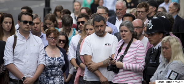 Moving Pictures As London Stops To Remember The Victims Of 7/7