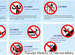 Russian Government Issues Guidelines On Safe Selfies