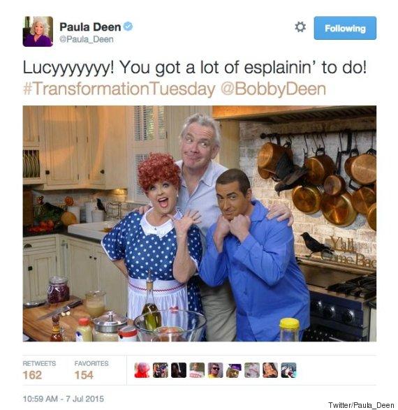 paula deen twitter