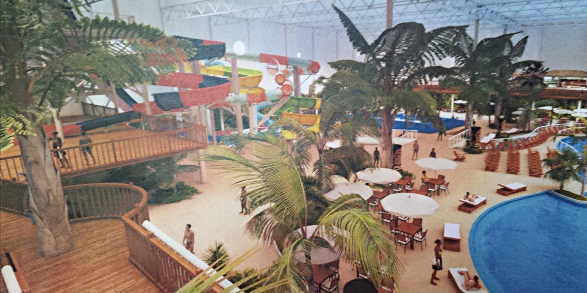 65 millions pour un parc aquatique couvert valcartier for Hotel parc aquatique interieur quebec