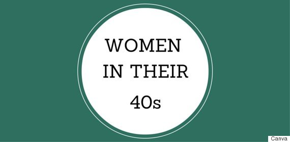 women in their 40s