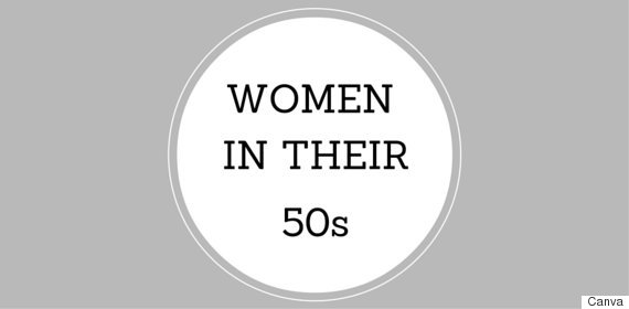 women in their 50s