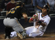 Braves Beat Pirates After Controversial Call At The Plate (VIDEO)