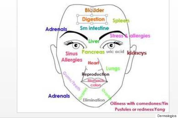 Le cosmétique effectif des points noirs sur la personne