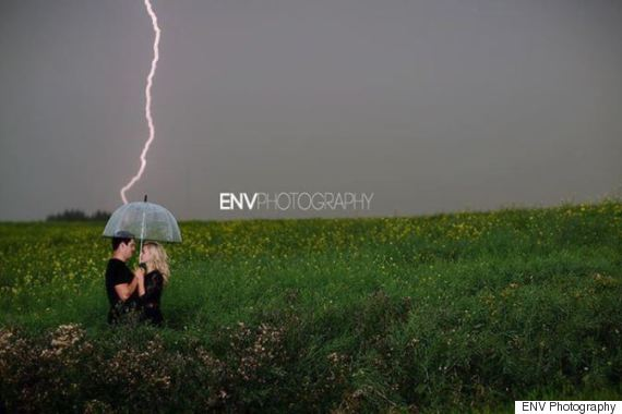 env photography lightning