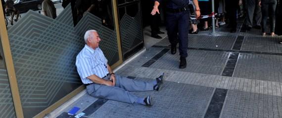 GREEK MAN WEEPING