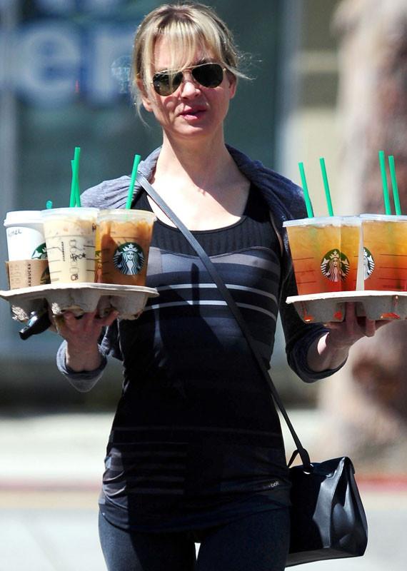 Celebrity coffee orders starbucks nutrition