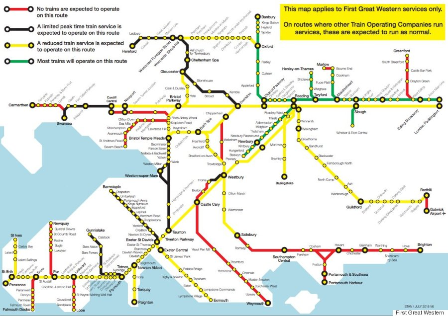 strike map