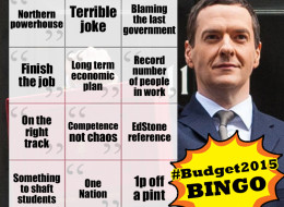 It's Time For Budget 2015 Bingo!
