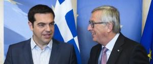 alexis tsipras jeanclaude juncker