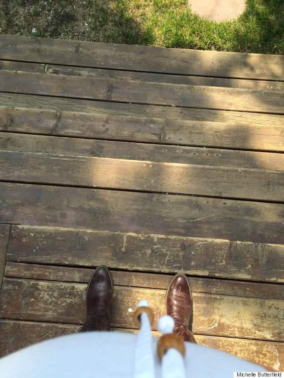 stampede feet