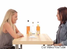 Best Friends Play An Incredibly Awkward Game Of 'Truth Or Drink'