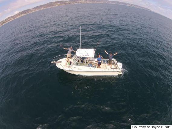 royce hutain boat