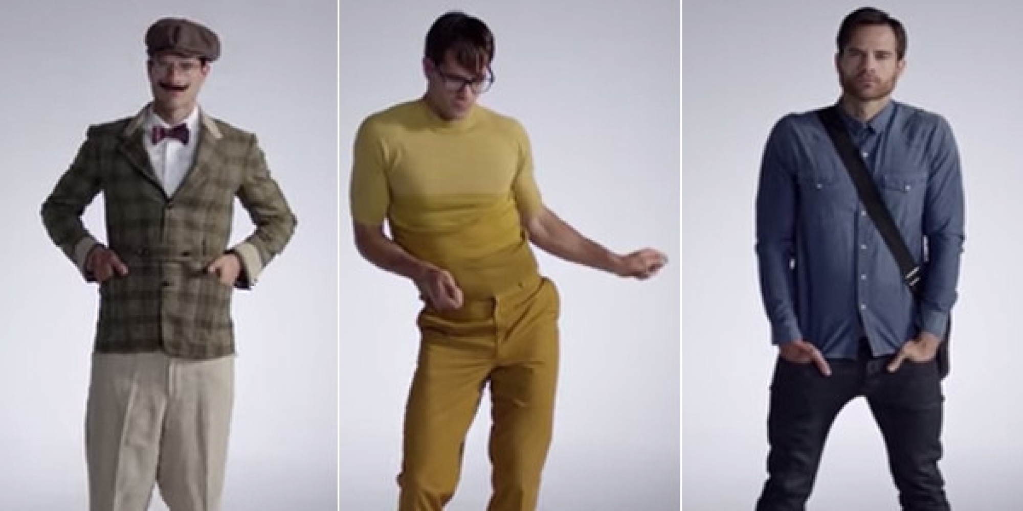 Watch 39 100 Years Of Men 39 S Fashion 39 Evolve From 1915 To Today