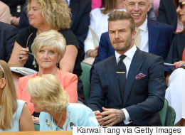 David Beckham Totally Owns Wimbledon With Epic Ball Catch