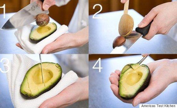 simpler trick das ist die einzig richtige art eine avocado zu schneiden. Black Bedroom Furniture Sets. Home Design Ideas