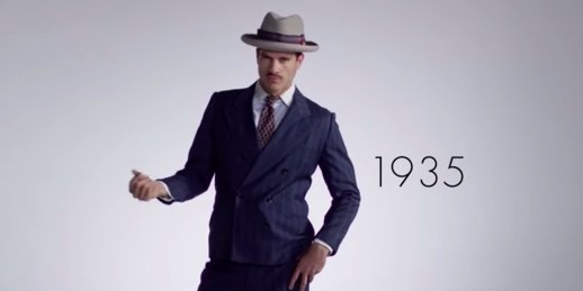 From Dapper Suits To Skinny Jeans, Here's 100 Years Of Men ...