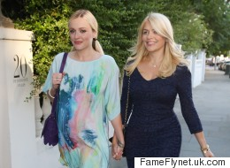 Pregnant Fearne Cotton Wears Gorgeous Dress To ITV Party