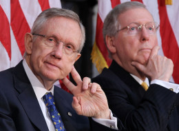 s HARRY REID MITCH MCCONNELL large Forward with Obama