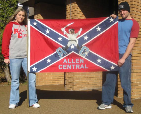 confederate flag game