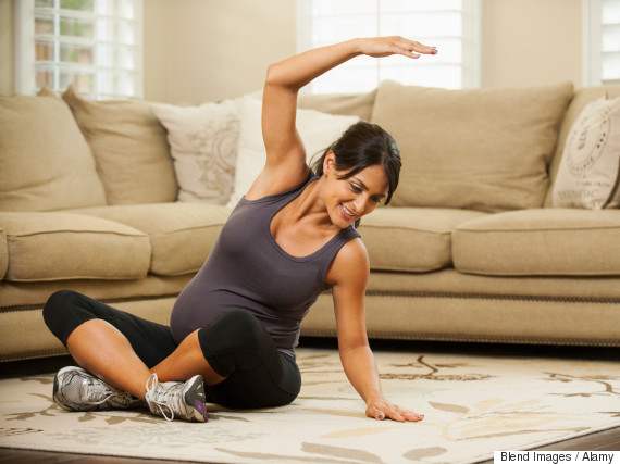 exercise pregnant