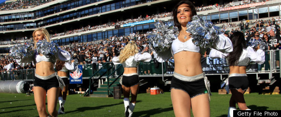 RAIDERS CHEERLEADERS SUSIE SANCHEZ