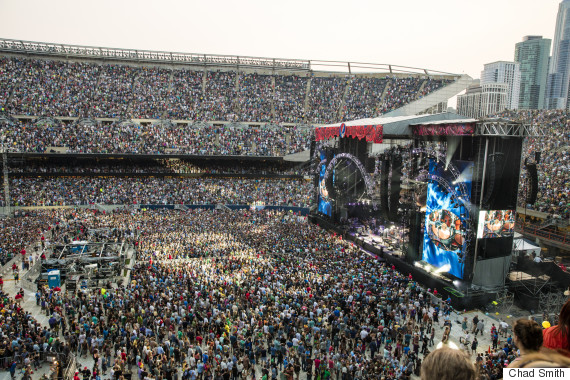 Levis Stadium Capacity >> Grateful Dead 'Fare Thee Well' Report Card   HuffPost