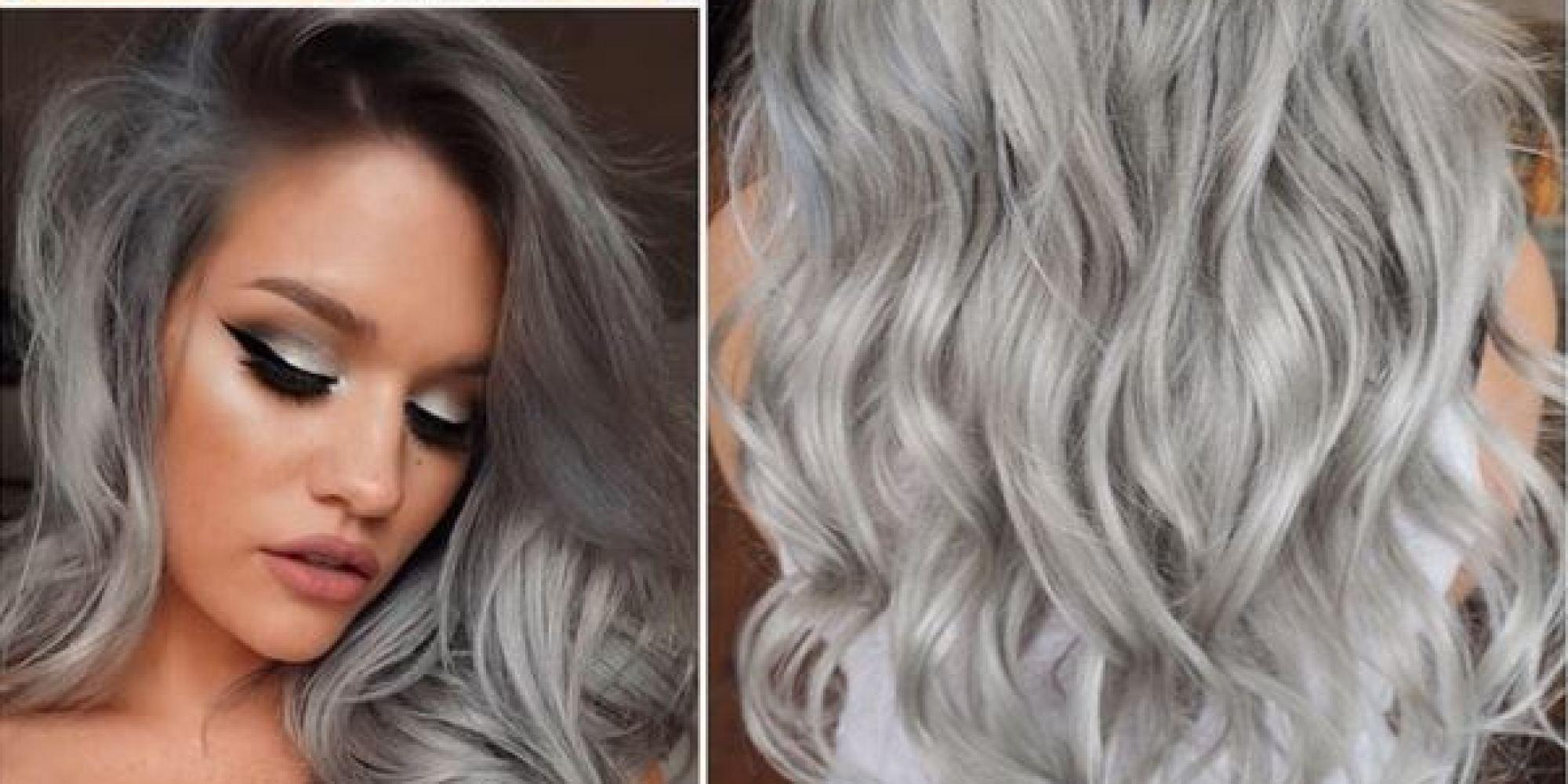 Как сделать серые волосы краска 167