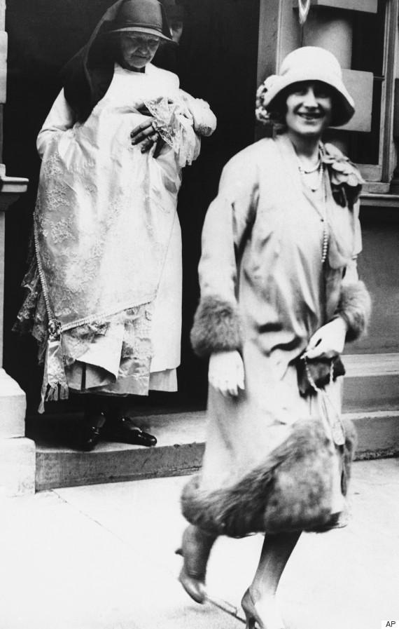 christening 1926