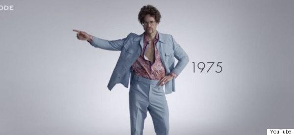 100 años de moda masculina en menos de 3 minutos