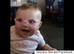 Watch The Moment Baby Sees Properly For The First Time With Glasses