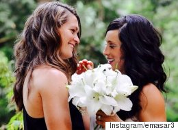 Female Football Players Get Married, Respond Perfectly To Homophobic Comments