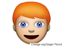Ginger Emoji Petition Arrives At Apple HQ... On A Carrot-Shaped Memory Stick
