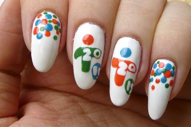 pan am nail art