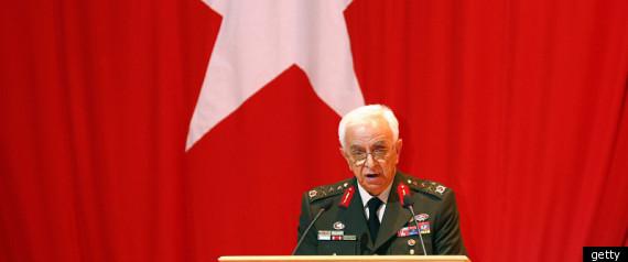 TURKEY MILITARY CHIEFS OF STAFF RESIGN