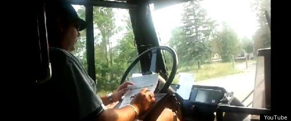GATINEAU BUS DRIVER WRITING